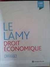 Ouvrage LAMY Droit économique (concurrence, distribution..) 2016 NEUF ss blister