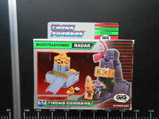 ROBOT Hasbro TRANSFORMERS Radar Autobot MICROBASE STATION AIRWAVE GIG rare