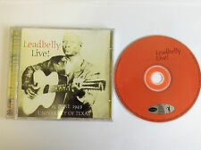 Leadbelly - Live [Fabulous] (Live Recording, 2002) CD - MINT
