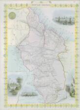 More details for 1850 original antique map of