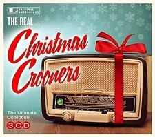 The Real Christmas Crooners VARIOUS Best Of 48 Essential Songs ULTIMATE New 3 CD