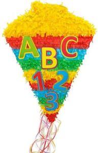 Pinata Schulanfang Schultüte 1.Schultag ABC Erstklässler Kindergeburtstag Schule