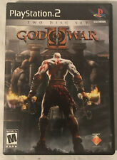 God of War II 2 Sony PlayStation 2 PS2 - 2007 Two Disc Set - CIB COMPLETE