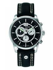 Bruno Söhnle Armbanduhren aus Edelstahl mit Datumsanzeige