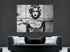 MADONNA BANKSY STYLE GRAFFITI ART WALL POSTER PICTURE PRINT LARGE  HUGE