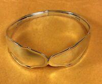 Vintage Antique German .800 Fine Sterling Silver Cuff Bracelet Heavy 41.65 Grams