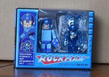 Bearbrick 100% Rockman - Mega Man - Toy - Bearbrick Medicom - Capcom - US Seller