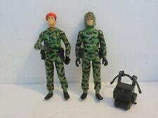 Infantryman & Captain Skip Action Force Palitoy Z Sas Gi Joe Cobra 2 Figures