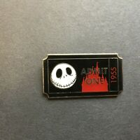 DLR - PWP Collection - Admission Ticket - Jack Skellington Disney Pin 89855