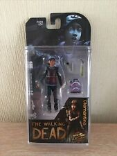 The Walking Dead Clementine Bloody Version Figure Mcfarlane Rare Telltale Games
