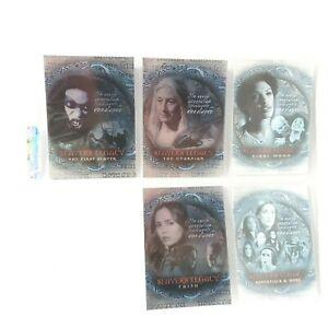 2003 INKWORKS Buffy the Vampire Slayer TV Show Slayer Legacy Foil Chase Card Set