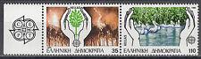 Ελλάδα / Griechenland 1630A-1631A** Europa 1986 / Natur- und Umweltschutz