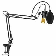 Neewer Japan Condenser Microphone Set NW-800 Studio Broadcast Recording set