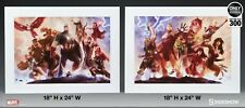 Sideshow Collectibles Avengers Team Cap and Iron Man Art Print