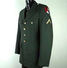DSCP DeROSSI & SON COAT MEN'S ARMY GREEN SIZE 37 L