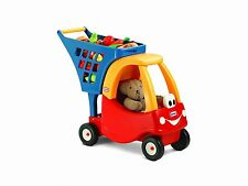 Einkaufswagen Kinderwagen Kaufladen Einkaufskorb Kinder Spielzeug Wagen Korb