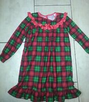 Girls size 6 - 6X Christmas Pajamas Nightgown EUC Candlesticks brand