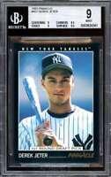 Derek Jeter Card 1993 Pinnacle #457 BGS 9 (9 8.5 9 9.5)
