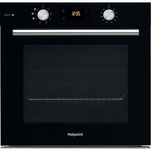 Hotpoint Gentle Steam Single Steam Oven - Black
