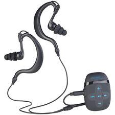 auvisio Wasserdichter Sport-MP3-Player mit FM-Radio und 16 GB Speicher, IPX8