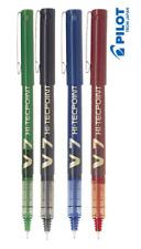 Pilot Hi-Tec punto V7 Bolígrafos Punta de 0.7mm negro-azul-rojo y verde de tinta (juego de 4)