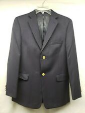 Lord Taylor Boys  NAVY  wool blend  SUIT  Blazer jacket SIZE 18R Perfect
