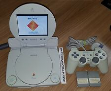 Sony PSOne PlayStation 1 SCPH-102 with Official LCD Screen SCPH-152 FREE UK P&P