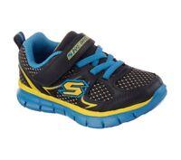 NEW! Skechers Toddler Boy's Synergy Mini Dash Shoes Navy/Blue #95090N* 120O hr