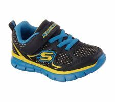NEW! Skechers Toddler Boy's Synergy Mini Dash Shoes Navy/Blue #95090N* 120O hr