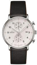 AUTHORIZED DEALER Junghans 041/4771.00 Form C Chronoscope Quartz Watch