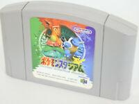 POKEMON STADIUM Nintendo 64 JAPAN POCKET MONSTERS Cartridge only n6c