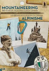 Canada, 2006 Booklet 332 Mountaineering Centenary