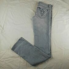 LEE Women's SUPATUBE Jeans Size 9 Short Light Wash Stretch Skinny Five Pocket