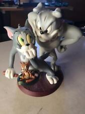 Extremely Rare! TM & Turner Tom & Jerry with Spike The Dog Figurine Statue