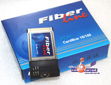 LAN CARD DEFECT? REPLACEMENT: NETWORK FIBERLINE CARDBUS PCMCIA FOR INTERNET DSL