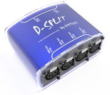 ENTTEC D-Split 70572 DMX Splitter Optical Isolator Controller 4 Outputs