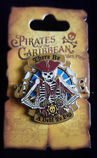 Disney Pirates Of The Caribbean There Be A Debt To Pay Skeleton Pin