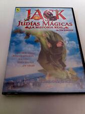 """DVD """"JACK Y LAS JUDIAS MAGICAS LA HISTORIA REAL DE JIM HENSON"""" PRECINTADO SEALED"""