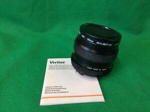 VIVITAR 55mm Wide Angle Lense