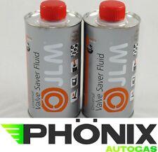 2x500ml JLM Ventilschutz 0,5L Nachfüllflasche  Autogas LPG Valve Saver Fluid