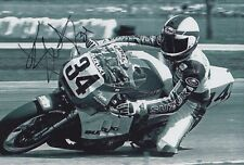 Kevin CAL Firmato a Mano 12x8 foto-MotoGP AUTOGRAFO 3.