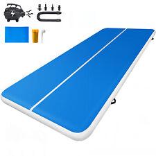 Air Track 13x6.5Ft Inflatable Tumbling Gymnastics Mat Yoga Pad Portable Fitness
