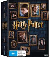 Harry Potter - Limited Edition COMPLETE 8 Film Collection (DVD, 16-Disc Set) NEW