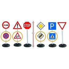 BIG Schilder-Set Signs-Mega-Set Verkehrsschilder Verkehr Auto