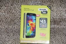 NEW Straight Talk Samsung Galaxy S5 16GB Android Smartphone for 4G LTE PREPAID
