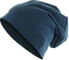 Bonnets bleu en laine mélangée pour homme