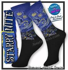 Women's Starry Night Socks (Blue)