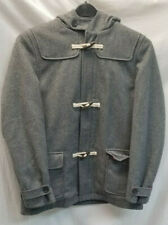 Mini Boden Gray Wool Duffle Coat 11-12Y