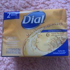 Dial Gold Soap-2 Bars-3.2 Ounces Each-New