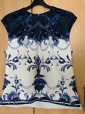 Ted Baker RALLEE BLOUSE Top size 5 UK 16 US 12